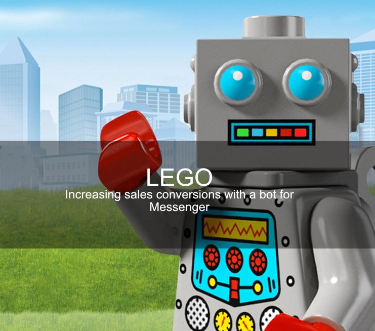 Lego chatbot case study