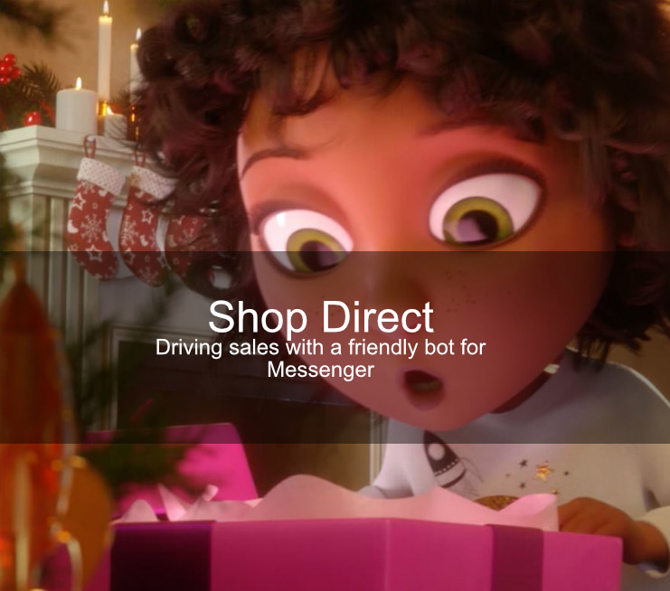 Shop Direct chatbot case study