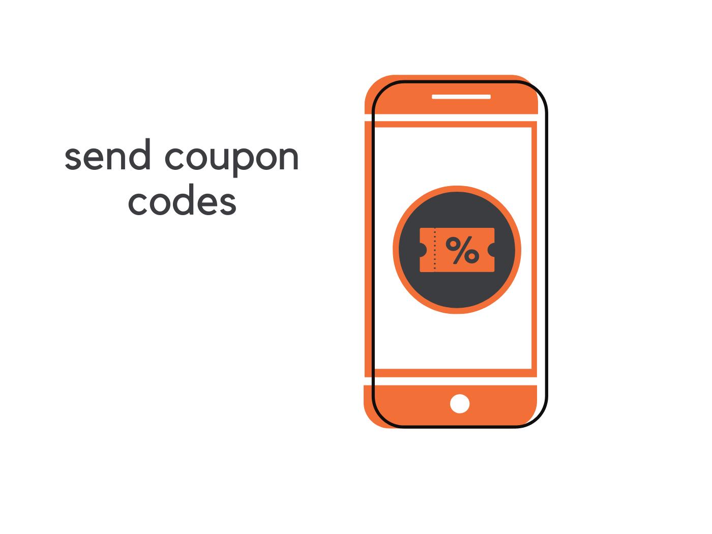 Send coupon codes chatbot demo